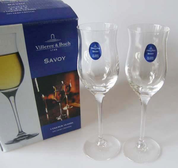 Villeroy & Boch Glas Savoy Likörkelch Set 4-tlg