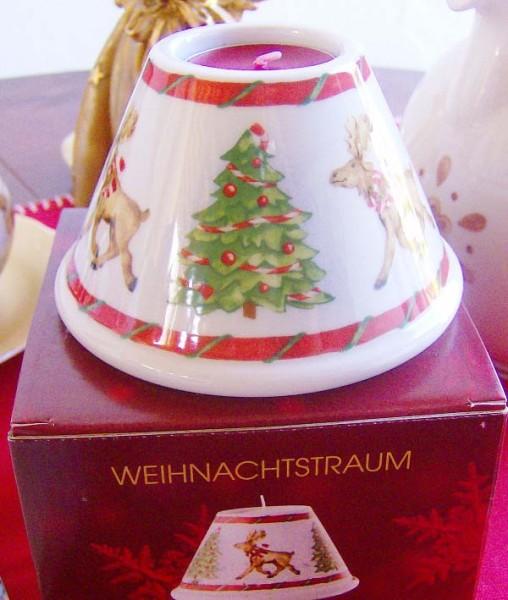 Hutschenreuther Porzellan Weihnachtstraum Tischlicht Kegel