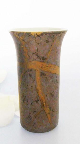 Rosenthal Goldfeuer Vase klein, 8,5 cm
