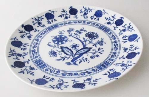 Seltmann Weiden Friederike Alt Dresden blau Frühstücksteller 19,2 cm (Zwiebelmuster)