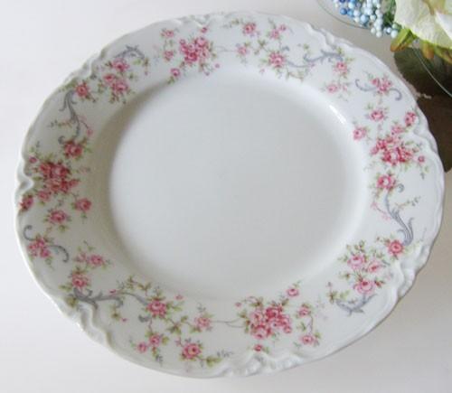 Hutschenreuther Racine Richelieu rosa Frühstücksteller 19,5 cm