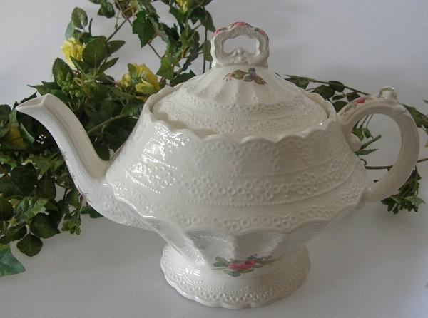 Spode Copeland Jewel Billingsley Rose Teekanne 1,10 l