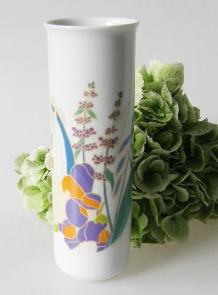 Rosenthal Vase Höhe 18 cm Design W.Bauer mit Dekor