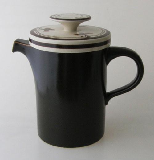 Rosenthal Siena Braunmalerei Kaffeekanne 1,20 l handgemalt
