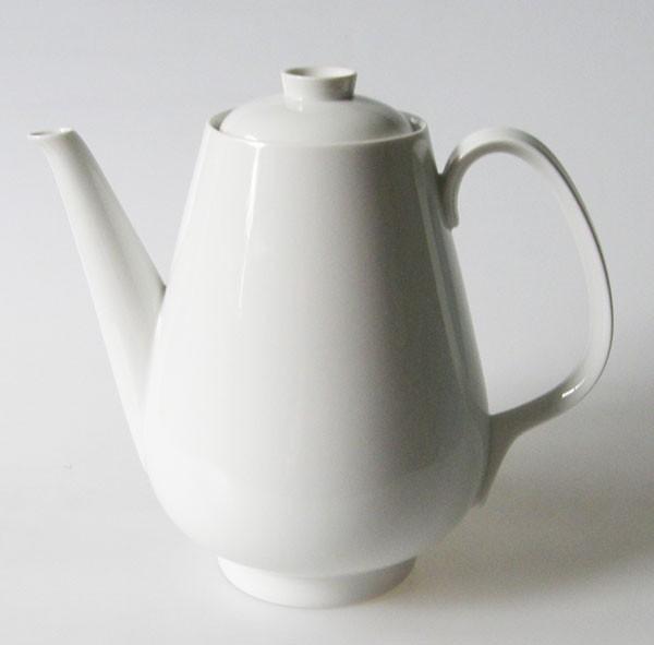 Rosenthal Selb Plössberg Form E Kaffeekanne weiss 6 Pers.