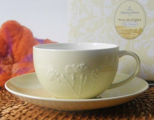 Villeroy & Boch The Tisane Teetasse mit Untertasse