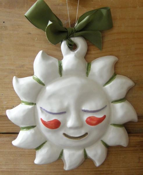 Thun Keramik Dekoform Sonne 12 cm