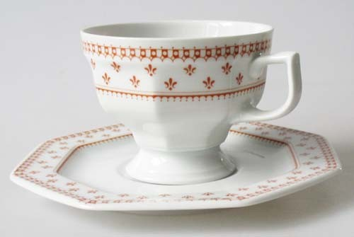Gallo Nobilis Arcadia Cardial Kaffeetasse mit Untertasse