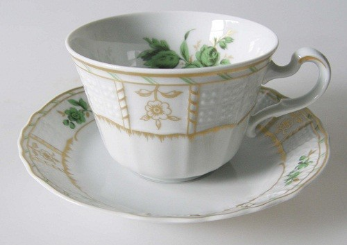 Villeroy & Boch Heinrich Fidelio Kaffeetasse mit Untertasse