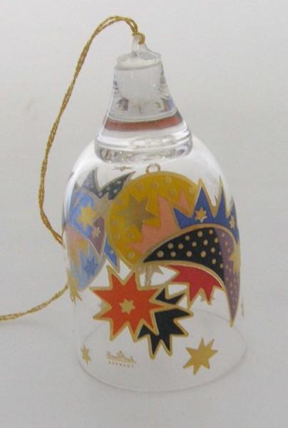 Rosenthal Kristall-Glocke Weihnachtsstern