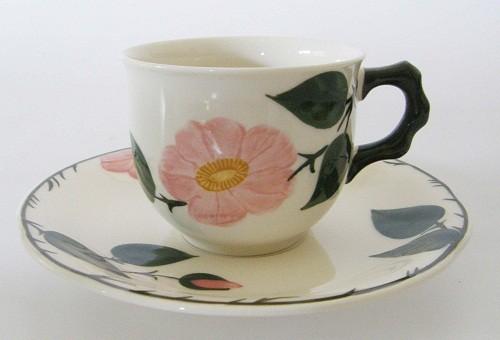 Villeroy & Boch Wildrose Kaffeetasse mit Untertasse, 2-teilig