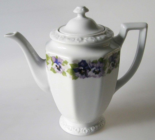 Rosenthal Stiefmütterchen Classic Rose Maria Kaffeekanne,klein 0,80 l