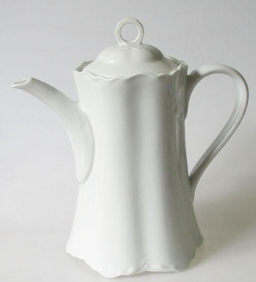 Hutschenreuther Racine weiß Kaffeekanne 1,4 l
