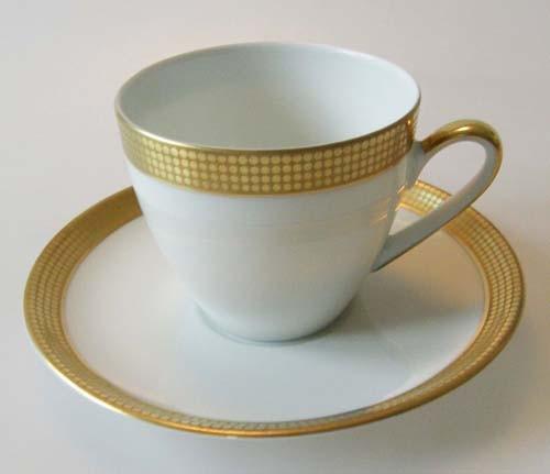 Hutschenreuther Drache Modell Exklusiv 03409 Kaffeetasse mit Untertasse