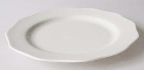 Gallo Galerie de Porcelaine Rondo weiß Frühstücksteller 21 cm