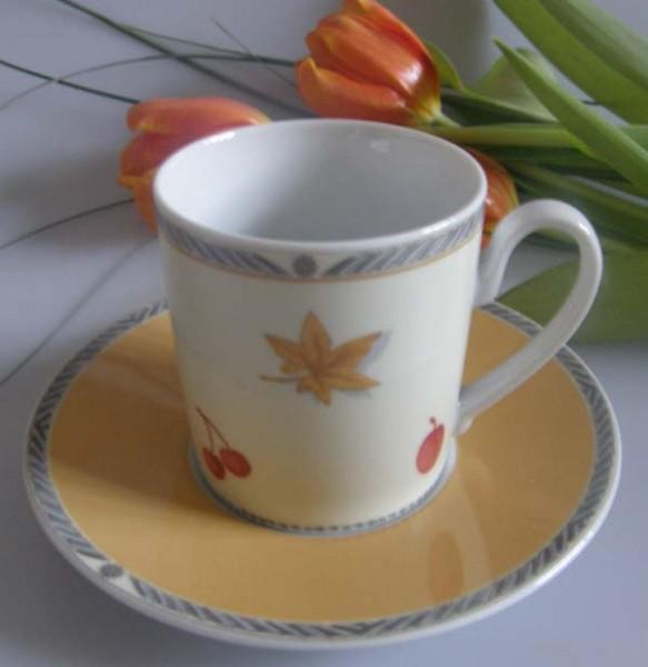 Rosenthal Julia Kaffeetasse mit Untertasse, 2-tlg.