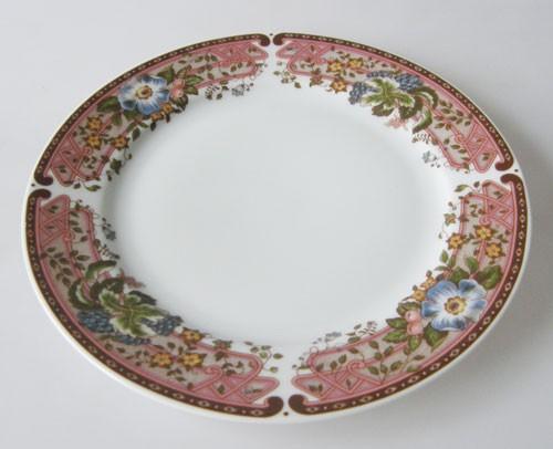 Heinrich Carmen Rankendekor rote Trauben und Clematis Frühstücksteller 20 cm