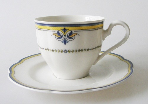 Kaffeetasse mit Untertasse 2-tlg. Rosenthal Grace Parisienne