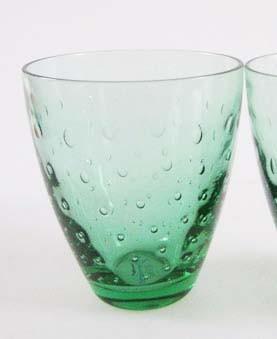 Casual grün Wasserglas Höhe 10,5 cm Rosenthal Wasser-/Saftglas Tropfendekor