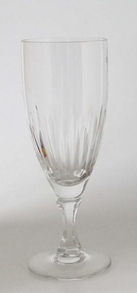 Rosenthal Sektglas Höhe 17 cm Kristall mit Schliff unbekannt