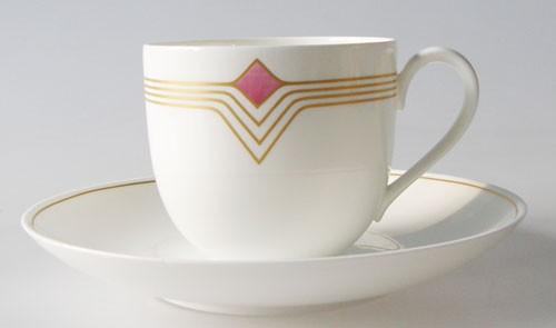 Heinrich Villeroy & Boch Origo Kaffeetasse mit Untertasse