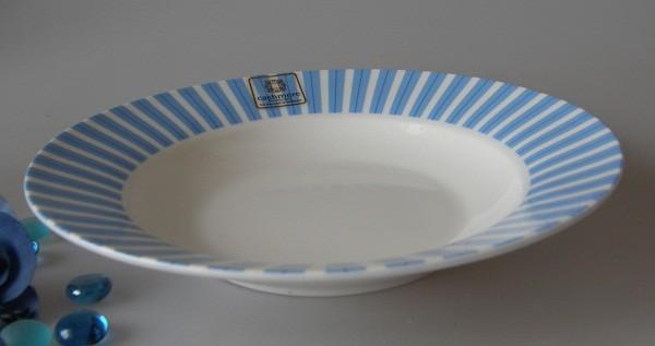 Maxwell & Williams Cashmere Allegro blau Suppenteller m.F. 23 cm