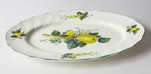 Villeroy & Boch Jamaica Platte oval groß 36x27 cm, mit Kratzer
