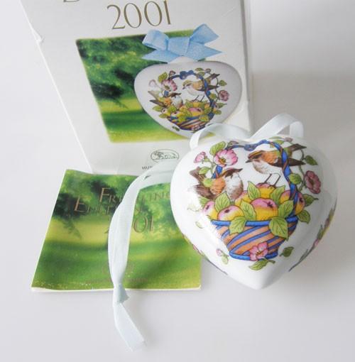 Hutschenreuther Porzellan Herz 2001