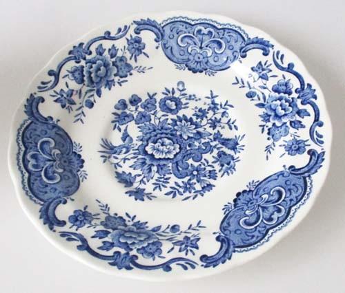 England Ridgway Windsor blau Untertasse für Teetasse Ø 15,5 cm