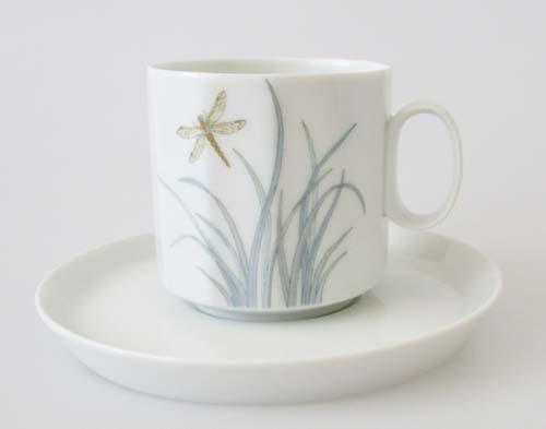 Rosenthal Polygon Milos Kaffeetasse mit Untertasse