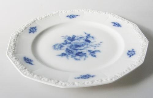 Rosenthal Maria Blaue Blume Speiseteller 24,5 cm