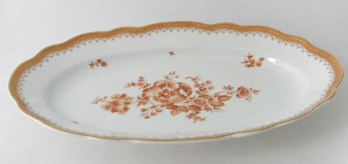 Hutschenreuther Maria Theresia Würzburg Servierplatt groß, oval, 38,5 cm