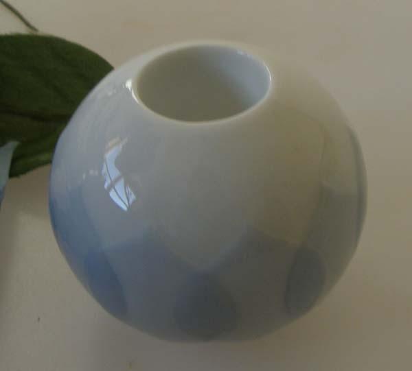 Rosenthal Lotus blau Kerzenhalter Höhe 5 cm