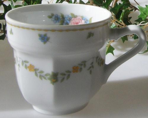Gallo Leonardo Das Blumenkörbchen Espressotasse 1tlg.