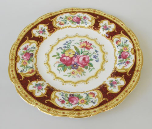 Royal Albert Lady Hamilton Frühstücksteller, klein 18 cm