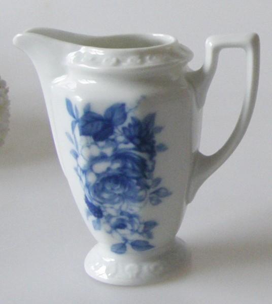 Rosenthal Maria Blaue Blume Sahne- Milchkännchen 0,08 l (Mokkaservice)