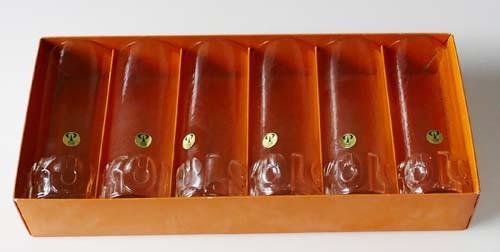 Peill & Putzler 6 Bierstangen Kölsch Bierglas Höhe 15,5 cm