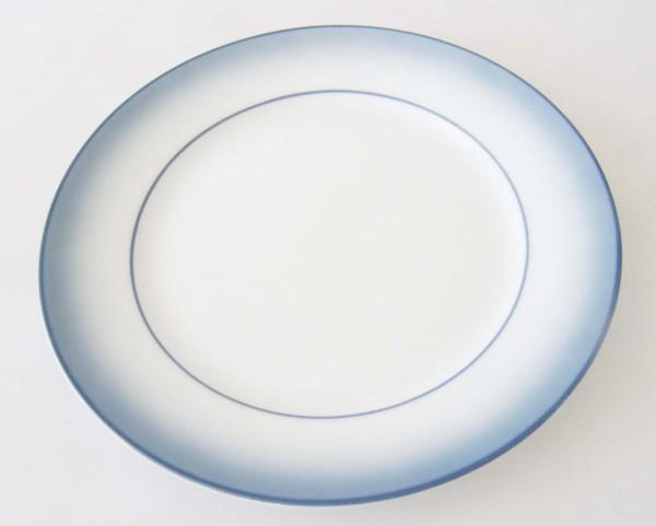 Mitterteich Form 2210 Frühstücksteller 19,5 cm Randdekor blau