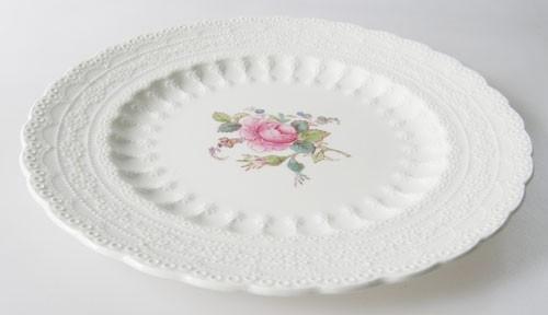 Spode Copeland Jewel Billingsley Rose Frühstücksteller 20 cm