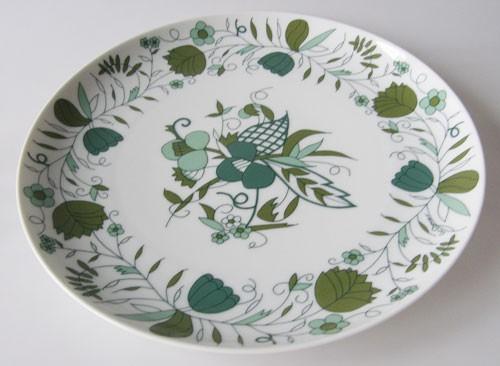 Rosenthal Plus Sepal grün Speiseteller 28 cm