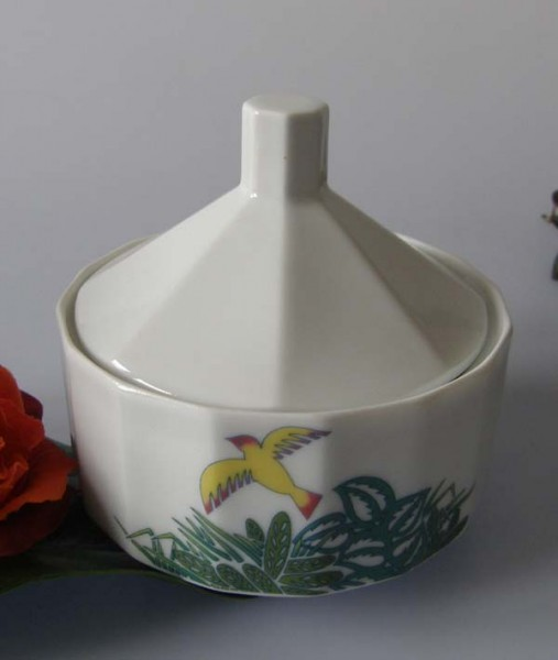Rosenthal Polygon Floralie Zuckerdose für 6 Pers. 0,20 l