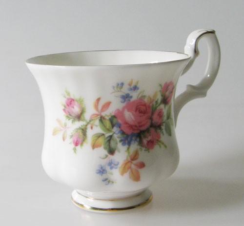 Kaffeetasse 1-tlg. Royal Albert Moss Rose