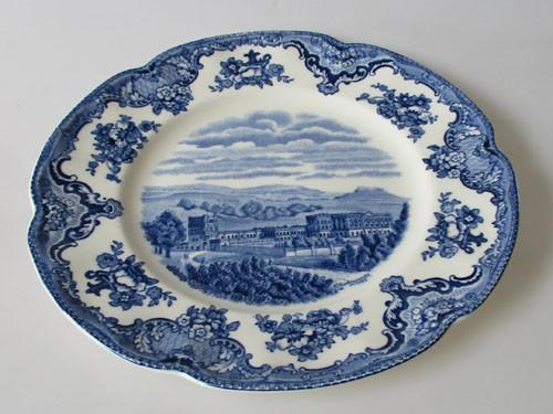 Johnson Bros Old Britain Castles blue Keramik Frühstücksteller 20,5 cm