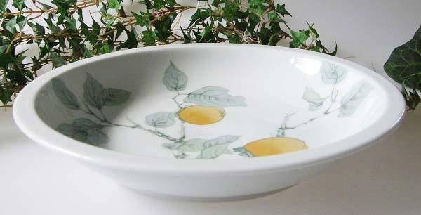 Gallo Galerie de Porcelane Lombardia Apricot Suppenteller 20,5 cm