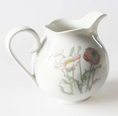Gallo Galerie de Porcelaine Roter Mohn Milchkännchen 0,25 l
