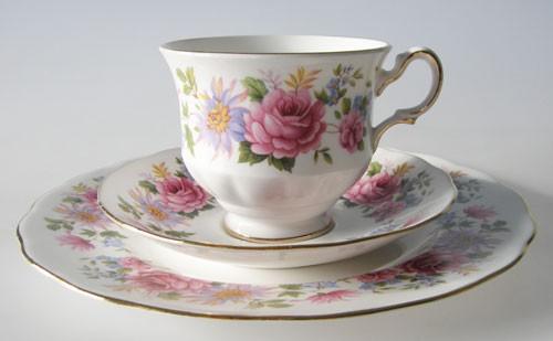 Queen Anne Serenade Kaffeegedeck 3-teilig