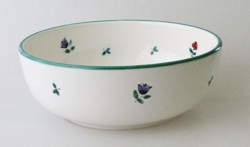 Gmundner Keramik Streublumen Schüssel 21 cm