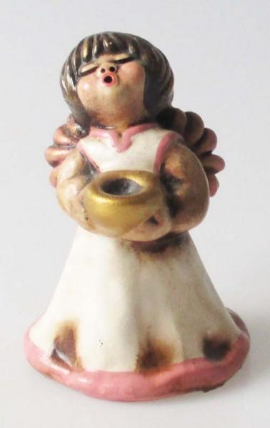 Thun Italy Bozner Engel Höhe 10 cm Farbe creme-rosa