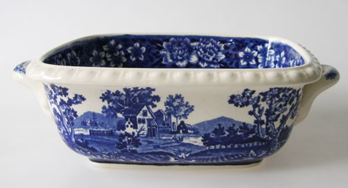 Villeroy & Boch Rusticana blau kleine Schüssel 16,5 x 13,5 x 6 cm