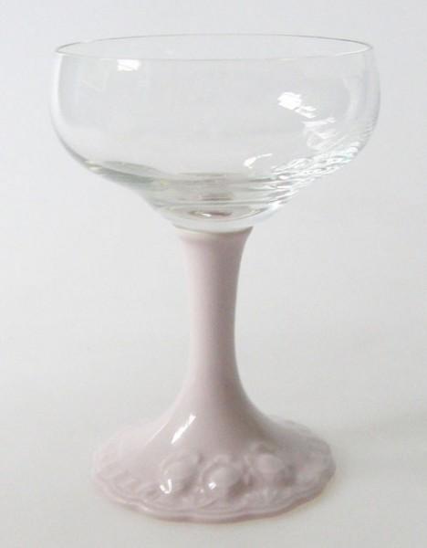 Hutschenreuther Drache Modell Exklusiv rosa Likörglas Höhe 10,5 cm